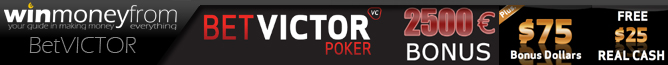 win money from poker at betvictor